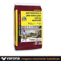 Argamassa ACIII Externo Cinza - Quartzolit * 60870