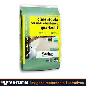 Argamassa ACI Cozinhas e Banheiros - Quartzolit * 60904